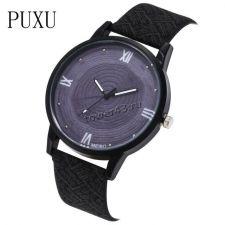 Часы PUXU Relogio Femenino под дерево, с ремешком, женские Цена
