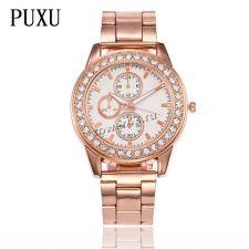 Часы PUXU Relogio Femenino, кварцевые, с ремешком/браслетом, в ассортименте Купить