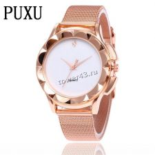 Часы PUXU Relogio Femenino, кварцевые, с ремешком/браслетом Вятские Поляны