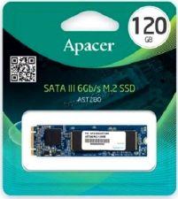 Твердотельный накопитель 120Gb SSD M.2 Apacer 2280 SATA3  6Gb/s 500/470Mb, MTBF 2M TLC Retail Купить