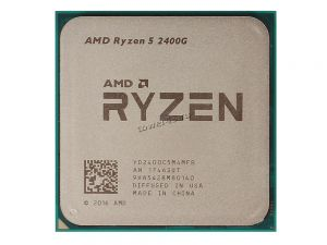 Процессор AMD Ryzen 5 2400G Socket AM4, VEGA11 4яд, 8поток, 3,6-3.9GHz, 65W L1-96Kb L2-2MB L3-4MB Купить