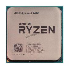 Процессор AMD Ryzen 5 2600 Socket AM4, 6яд, 12потоков, 3,4-3.9GHz, 65W 19MB L2-3MB+L3-16MB oem Купить