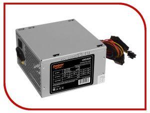 Блок питания EXEGATE 400W ATX-UNS400 12cm fan, 24+4pin, (6+2)pin PCI-E, 3*SATA, 2*IDE, +12V -32A oem Купить