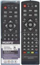 Пульт DVB-T2+2 для ресиверов универсальный Huayu Купить