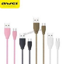 Кабель микро USB 2.0 1м AWEI/HOCO CL-90 (L-коннектор) /CL-94 /CL-982 Retail Цены