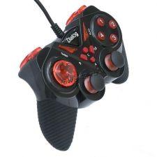 Геймпад Dialog Action GP-A13, вибрация, 12 кнопок, красно-черный, прорезиненная часть Купить