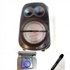 """Комбо-бокс колонка 8"""" BT1808/1839 JBK-0803/05 SY1777/78 Q8/Q8A USB/SD/FM/блютуз /дисплей /мик /пульт Цена"""
