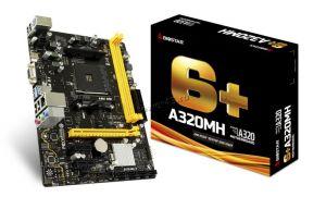 Мат.плата Soc-AM4 Biostar A320MH, 2*DDR4-2667, HDMI+D-SUB, USB3.0 mATX RTL Купить