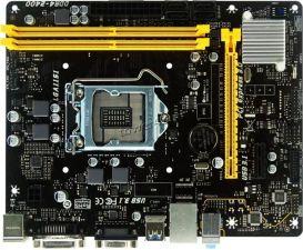 Мат.плата S-1151 BIOSTAR H110MDE 2*DDR4-2400, D-SUB+DVI, 2xPCI-Ex1, 2+1xUSB3.0, GLAN, mATX Rtl Купить