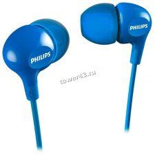 Наушники Phillips SHE3550 вкладыши, 16Om, 11-22000hz, 105dB, неодимовый магнит (цвет в ассортимете) Цены