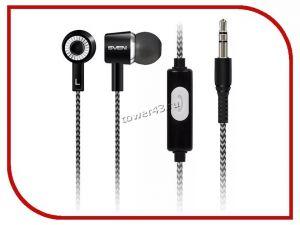 Наушники+микрофон SVEN E/SEB-109M черно-серые, вкладыши Купить