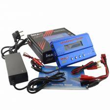 Зарядно-анализирующее устройство E7WIN Imax B6 для аккумулят., 80W, 0.1-5А, дисплей, с адаптером Купить