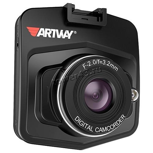 "Автомобильный видеорегистратор ArtWay AV-510, 1920x1080х25к/с, подсветка, LCD2.4"", microSD, 120гр"
