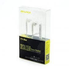 Наушники+микрофон AWEI ES-15Hi вкладыши в стиле Apple (цвет в ассортименте) Цена
