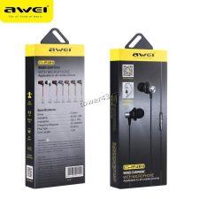Наушники+микрофон AWEI ES-850Hi вкладыши черные Цена