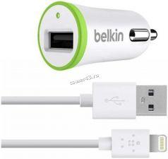 Автомобильное зарядное устройство Belkin 2100mА (2.1Am) для iPhone5/6/6Plus/7/7Plus Купить