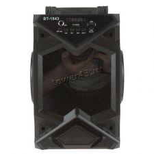 "Мобильная колонка-плеер BT1842 /BT1843 /BT4208 Bluetooth /USB /MicroSD /FM /2х4"" /дисплей /подсветка Цена"
