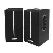 Колонки Smart Buy GATE SBA-4100 (20W) блютуз /FM-радио /MP3 /SD /USB дерево (чёрные) Купить