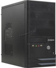 Корпус MidiTower EXEGATE BAA-101, ATX, блок пит 450Вт, USB2.0, Audio черный Купить