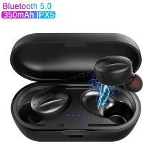 Наушники+микрофон вкладыши XG-13, с зарядным боксом беспроводные, блютуз 5.0, IP5, черные Купить