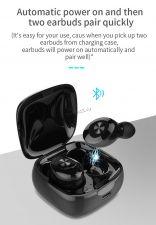 Наушники+микрофон вкладыши XG-12 TWS, с зарядным боксом беспроводные, блютуз 5.0, черные Купить