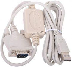 Кабель конвертор USB -> COM DB9M(RS232) Gembird UAS111, Prolific PL2303TA, от winХР до win10, 1.8м Купить