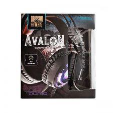 Наушники+Микрофон QUMO Avalon GHS 0006, игровые, подсветка, интерфейс USB + 3,5 jack, динамики 50мм Цена