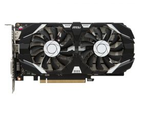 Видеокарта GeForce 1050GTX Ti 4Gb <PCI-E> MSI OC 128bit DDR5 1341/7008 HDMI, DVI Retail Купить