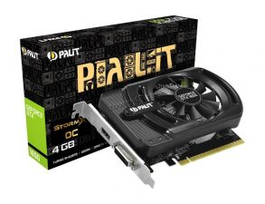 Видеокарта GeForce 1650GTX 4Gb <PCI-E> Palit 128bit DDR5 HDMI, DVI Retail Купить