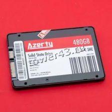 """Твердотельный накопитель 480Gb SSD 2.5"""" Azerty BR 480, 500/450Mb/s, SATA3 TLC Купить"""