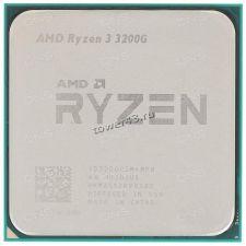 Процессор AMD Ryzen 3 3200G Socket AM4, VEGA8, 4яд, 4потока, 3,6-4.0GHz, 65W L1-96Kb L2-2MB L3-4MB Купить