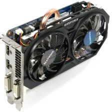 Видеокарта GeForce 750GTX Ti 2Gb <PCI-E> Gigabyte WindForce 128bit DDR5 (DSUB, HDMI, DVI) oem Купить