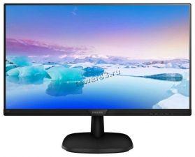 "Монитор 27"" Philips 273V7QDSB(00/01) <1920x1080, IPS, 5M:1> HDMI, D-SUB, DVI, AUX, 178/178гр Купить"