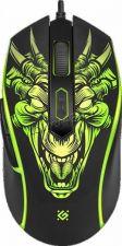 Мышь Defender Monstro GM-510L RGR подсветка 6кн. (игровая) (чёрный) 800-3200dpi Цена