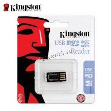 Картридер KINGSTON FCR-MRG2 USB3.0 для microSD Retail Цена