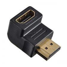 Переходник видеоразъема HDMI (F) - HDMI (M) Г-образный Купить