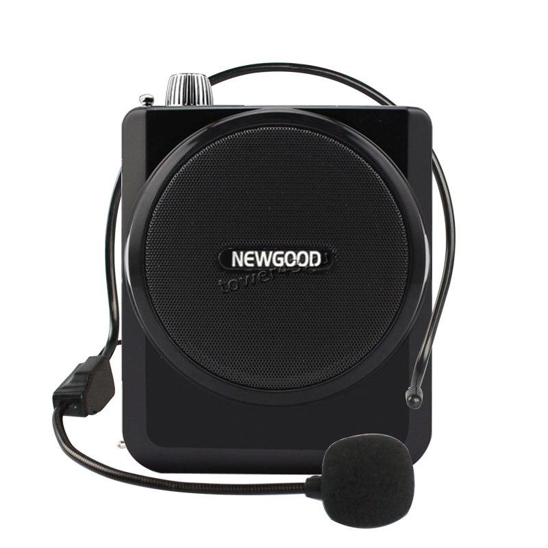 Громкоговоритель NewGood N202 с 2мя петличными микрофонами (провод. и беспров.) экскурсионный