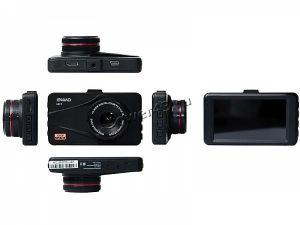 """Автомобильный видеорегистратор LEXAND LR17, 3""""LCD, 1920х1080х30к/с,120гр, метал.корпус Купить"""