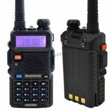 Рация BaoFeng UV-5R VOX черная, FM, акб, 2хдиапазонная, фонарик, дисплей, до 10км Цены