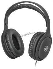 Наушники+микрофон Defender Tune 125 двойное оголовье, рег.громкости, шнур 2м Купить