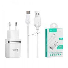 Сетевое зарядное устройство 220В -> microUSB HOCO 1A USB (цвет в ассортименте) Retail Купить
