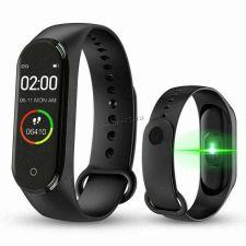 Смарт браслет Smart Band М4 (часы, пульсомер, измеритель давления и кислорода, мониторинг сна) Цена