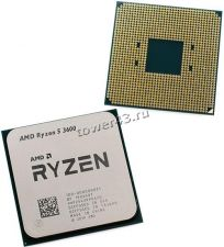 Процессор AMD Ryzen 5 3600 SocketAM4, 6яд, 12потоков, 3,6-4.2GHz, 65W 19MB L2-3MB+L3-32MB oem Купить