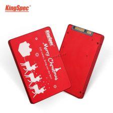 """Твердотельный накопитель 1Tb SSD 2.5"""" KingSpec, 7мм, SATA3 (новогодняя редакция) Купить"""