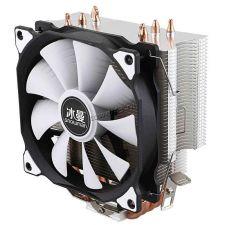 Вентилятор SnowMan all Socket, до150Вт, 4тепл.труб, 23-89CFM, 900-1400об, PWM, 18-22dB, вент.120мм Купить