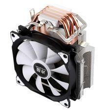 Вентилятор SnowMan all Socket, до150Вт, 4тепл.труб, 23-89CFM, 900-1400об, PWM, 18-22dB, вент.120мм Цена