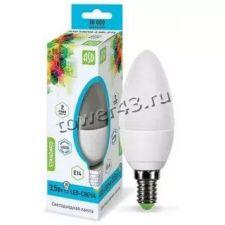 Лампа светодиодная (LED) ASD Standart Свеча 7.5Вт, 4000К, E14, 675лм Retail Купить