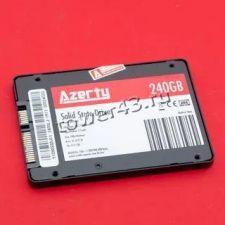 """Твердотельный накопитель 240Gb SSD 2.5"""" Azerty BR 240, 500/450Mb/s, SATA3 TLC Купить"""