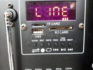 """Комбо-бокс колонка ELTRONIC 2*12"""" (EL-1212А динамик 2шт/12"""" с TWS Цена"""