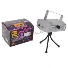 Лазерный голографический проектор B52 GST-119, 6 режимов, авто, стробоскоп, цветомузыка Цена